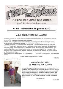 L'Echo Des Guions N°56-couverture