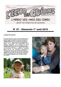 L'Echo Des Guions N°57-couverture