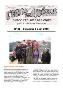 L'Echo Des Guions N°58-couverture