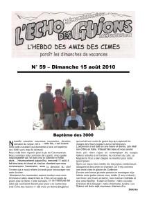L'Echo Des Guions N°59-couverture