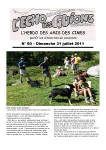 L'Echo Des Guions N°60-couverture_