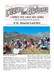 L'Echo Des Guions N°64-couverture