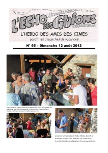L'Echo Des Guions N°65-couverture