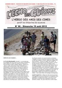 L'Echo Des Guions N°66-couverture