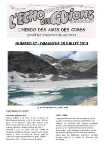 L'Echo Des Guions N°67-couverture